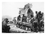 Black Women Selling Angou  from 'Travels in Brazil'  Engraved by Thierry Freres (Fl1827-45)  1835
