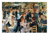 Ball at the Moulin De La Galette  1876 (Oil on Canvas)