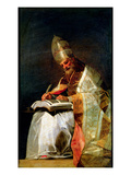 St Gregory the Great  1795-99 (Oil on Canvas)