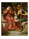 Jason and Medea  1907 (Oil on Canvas)