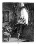 Jan Six  1647 (Etching)