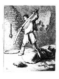 The Beheading of John the Baptist  C1627 (Etching)