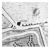 Map of Tyburn  1746 (Litho) (Detail of 438496)
