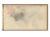 Study (Black Pencil and Pastel on Paper)