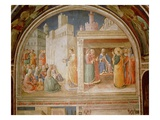 StStephen Preaching and StStephen Addressing the Council (Fresco)