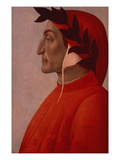 Portrait of Dante (Oil on Canvas)