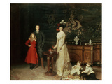 The Sitwell Family  1900 (Oil on Canvas)