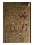 Chapel of Anubis  Mortuary Temple of Hatshepsut (C1503-1482 BC) New Kingdom (Painted Limestone)