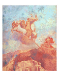 Chariot of Apollo  C1908 (Oil on Canvas)