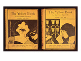 34:The Yellow Book  Published by Lane  Volumes 1 and 2  1894  Covers