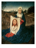 St Veronica  C1470-1475 (Oil on Panel)