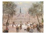 Place De L'Hotel-De-Ville  Paris