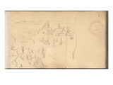 Dieppe Seen from the Pollet (Pencil on Paper)