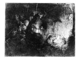 The Adoration of the Shepherds  C1652 (Etching)