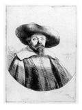 Samuel Manasseh Ben Israel  1636 (Etching)