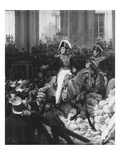 The Duke of Orleans Leaves the Palais-Royal and Goes to the Hotel De Ville on 31st July 1830  1832