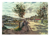The Seine at Bougival  1869