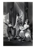 A Mother with Her Family in the Country  Engraved by Richard Rhodes  1807 (Engraving)