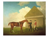 Eclipse at Newmarket  with a Groom and a Jockey  1770