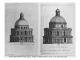 Basilica Saint-Denis  the Valois Tower  C1655 (Engraving) (See also 414689  414690)