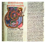 Harl 2803 Vol 1: F264 the Prophet Hosea  from the Worms Bible  1148 (Vellum)
