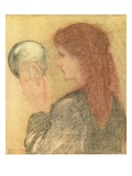 Astrologia  1893 (Pastel on Paper)
