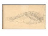 Mount Kolsaas  1895 (Pencil on Paper)