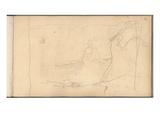 Etretat  La Manneporte (Pencil on Paper)