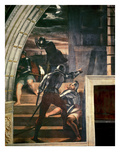 The Guards Outside the Prison  from 'The Liberation of St Peter' in the Stanza D'Eliodoro  1512-14