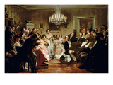 A Schubert Evening in a Vienna Salon