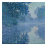 Branch of the Seine Near Giverny  1897 (Oil on Canvas)