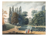 Massena Park at Reuil  15 April 1813 (Gouache on Paper)