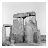 Stonehenge (B/W Photo)