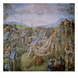 Crucifixion of St Peter  1546-50 (Fresco)