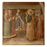 StStephen Preaching and StStephen Addressing the Council (Fresco) (Detail of 29037)