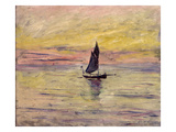 The Sailing Boat  Evening Effect  1885 (Oil on Canvas)