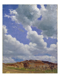 Clouds (Oil on Canvas)