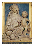 Madonna and Child  C1470 (Glazed Terracotta) (Also See 79880)