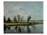 Water Meadows Near Salisbury  C1820 (Oil on Canvas)