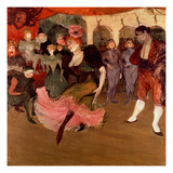 Marcelle Lender Dancing the Bolero in 'Chilperic'  1895 (Oil on Canvas)