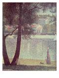 The Seine at Courbevoie  1885