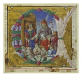 Massacre of the Innocents  Cremone  Late 15th Century (Vellum)