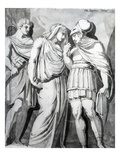 Zethos  Antiope and Amphion  1770 (Pen  Ink and Wash on Paper)