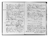 Pages from Monet's Account Book Detailing Names and Addresses (Pen and Ink on Paper) (B/W Photo)