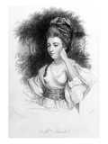 Hester Thrale  Engraved by Samuel Freeman  1842 (Engraving)