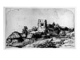 Landscape with a Tower  1650 (Etching)