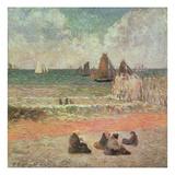 Bathing  Dieppe  1885