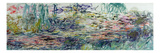 Waterlilies  1917-19 (See Detail 414401 and 414402) (Oil on Canvas)