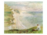 Cliffs at Pourville  1879