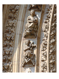 Archivolt of the Central Portal of the West Facade  Detail of a Violinist and a Zither Player